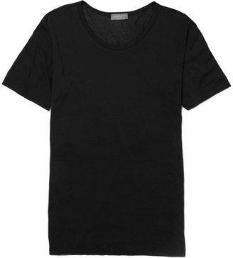 Zimmerli Royal Classic Crew-Neck Cotton T-Shirt $105 thestylecure.com