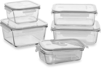 Bed Bath & Beyond Store N' Lock 10-Piece Glass Food Storage Set