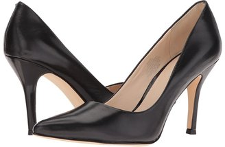 Nine West Flax (Black Leather) - Footwear