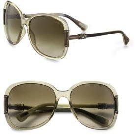 Lanvin Oversized Butterfly Sunglasses