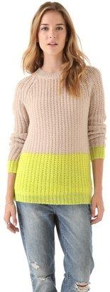 Madewell Olivia Colorblock Pullover