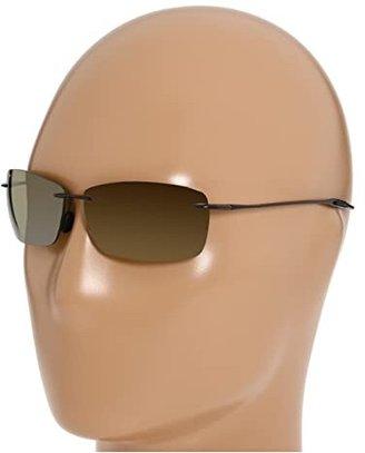 Maui Jim Lighthouse (Gloss Black/Neutral Grey) Sport Sunglasses