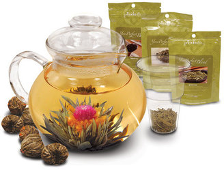 Primula Flowering And Loose Tea Gift Set