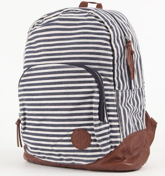 Roxy Long Time Stripe Backpack