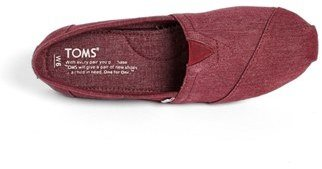 Toms 'Classic - Earthwise' Vegan Slip-On (Women)