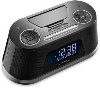 HMDX Freedom Alarm Clock Radio w/Lightning Pin and Bluetooth®