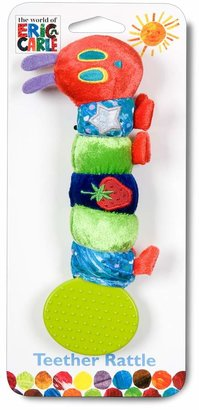 Kids Preferred Eric Carle Caterpillar Teether Rattle