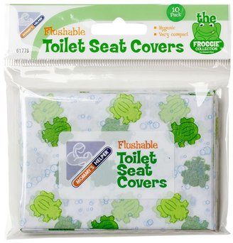 Mommys Helper Mommy's Helper Froggie Toilet Seat Covers (individual 10 pk)- Frog Print