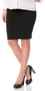 Motherhood Secret Fit Under Belly Knee Length Pencil Fit Maternity Skirt