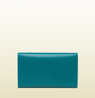 Gucci Bright Diamante Leather Clutch