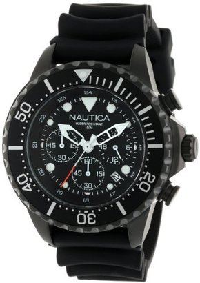 Nautica Unisex N26547G NMX 650 Chronograph Stainless Steel Watch $265 thestylecure.com