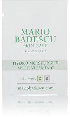 Mario Badescu FREE Hydro Moisturizer with Vitamin C sample w/any purchase