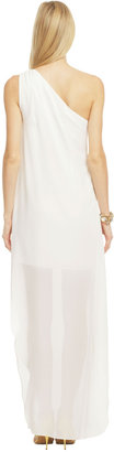 Mark & James by Badgley Mischka White Out Dress