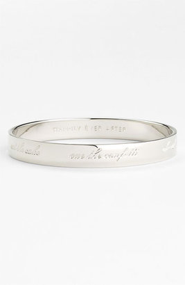 Kate Spade 'idiom - Happily Ever After' Bangle