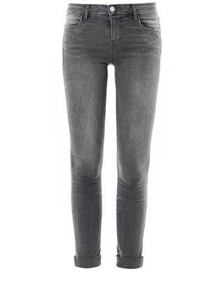 J Brand Anja Photo-Ready mid-rise cropped skinny jeans