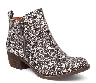 Lucky Brand Basel Leather Flat Bootie