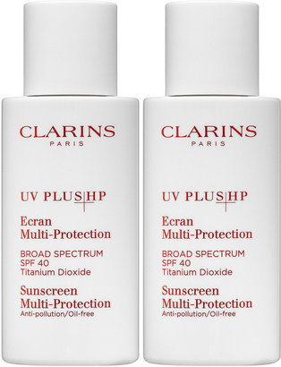 Clarins UV Plus HP Sunscreen Multi-Protection Broad Spectrum SPF 40 Double Edition