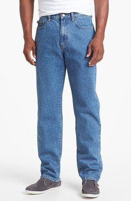 Cutter & Buck Classic Five-Pocket Relaxed Fit Jeans (Big & Tall)