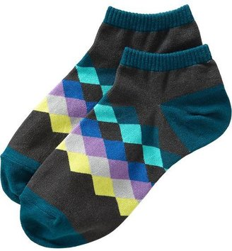 Old Navy Women's Argyle Liner Socks