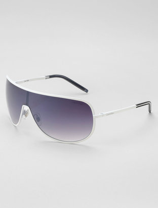 Calvin Klein Metal Frame Shield Sunglasses