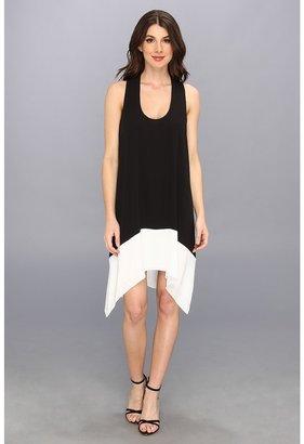 BCBGMAXAZRIA Kylie Cutout Back Dress