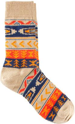 Asos Aztec Pattern Socks