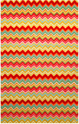 Liora Manné Area Rug, Seville 9666/44 Zigzag Stripe Multi 5' x 8'