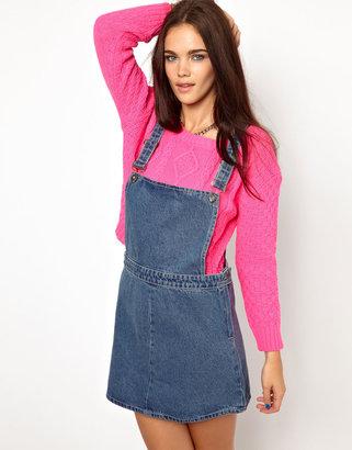 Glamorous Denim Overalls Dress