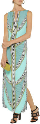 Mara Hoffman Printed jersey maxi dress