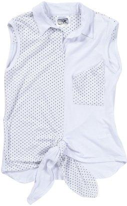Erge Tie Top - White-S 7/8