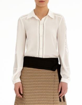 Rachel Roy Embroidered Blouse