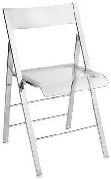 Bed Bath & Beyond Lucite Folding Chair