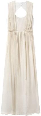 Carven Long Open Back Dress