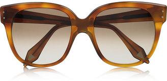 Victoria Beckham Audrey square-frame acetate sunglasses