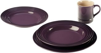 Le Creuset Dinnerware Collection in Cassis