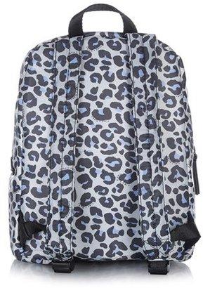 Tiba + Marl Leopard Print Mini Elwood Backpack