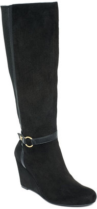 Jones New York Shoes, Dalby Tall Wedge Boots