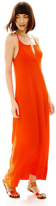 Joe Fresh Sleeveless Halter Maxi Dress