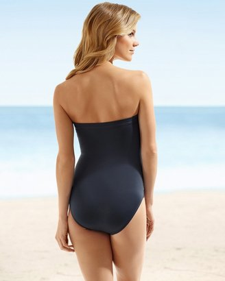 Miraclesuit Shimmer Muse Bandeau One Piece Swimsuit