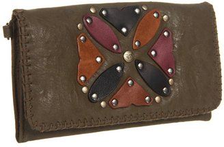 Roxy Crafty Wallet (Moss Cove) - Bags and Luggage