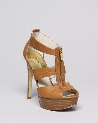 MICHAEL Michael Kors Platform Sandals- Berkley High Heel