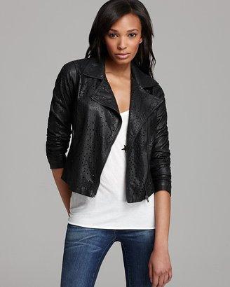 Blank NYC BLANKNYC Jacket - Faux Leather Cutout