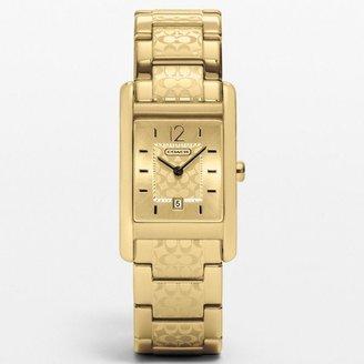 Carlisle Gold Plated Etched Bracelet