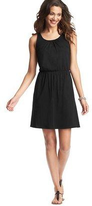 LOFT Petite Cutout Back Sleeveless Dress
