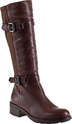 Aquatalia by Marvin K Starry Riding Boot Black Leather