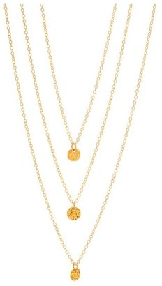 Women's Gorjana 3-Disc Necklace $70 thestylecure.com