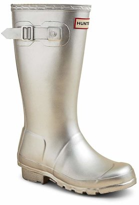Hunter Girls' Original Kids Metal Rain Boots - Little Kid, Big Kid $80 thestylecure.com