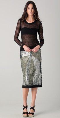 Sonia Rykiel Sequined Skirt