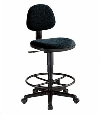 Alvin and Co. Economy Low-Back Drafting Chair