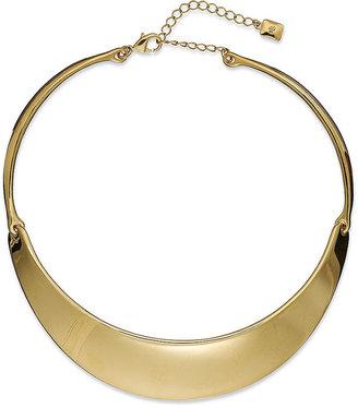 Lauren Ralph Lauren Necklace, 14k Gold Plated Collar Necklace